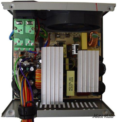 Изображение 15.  Блок питания Codegen 300X1 P4: вид изнутри.